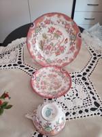 Sarreguimes , teàs csésze,Minton dekorral.