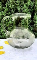 Hatalmas csiszolt üveg kancsó
