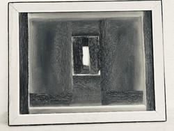 Ambrus Imre Ablak modern festmény