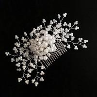 Esküvői, menyasszonyi, alkalmi hajdísz, S-H-FÉ07-16