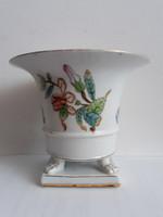 HERENDI körmös kaspó-1870-es évekből