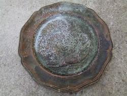 Antik fém tál