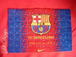FC BARCELONA A4 PUZZLE