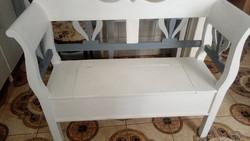 Karos láda ,karos pad  ,felnyitós láda kerti bútor 120cm