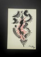 SZEIFT BÉLA akvarell 20x14 cm