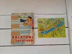 Fekete-Zoltán-Várfalvi: Balatoni mindentudó_1958_+ajándék képeslap