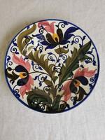 Városlőd tányér, keménycserép 19. század