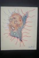 SZEIFT BÉLA akvarell 18x21 cm