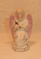 Régi porcelán angyal, számozott
