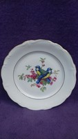 Johann Haviland porcelán madaras falitányér