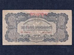 A Vöröshadsereg Parancsnoksága (1944) 20 Pengő bankjegy 1944 (id50563)