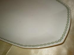 HUTSCHENREUTH  porcelán nagy kínáló ovális tál hibátlan 37x24x4 cm.