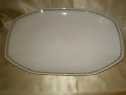 HUTSCHENREUTH  porcelán nagy kínáló ovális tál hibátlan 45x30x4 cm.