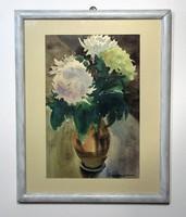 Zirkelbach László akvarel képe