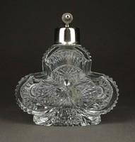 1F349 Régi csiszolt parfümös üveg
