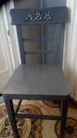 Régi szék, ülőke bútor darab