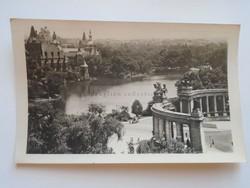 G21.339    Régi képeslap   BUDAPEST Városligeti tó  1956