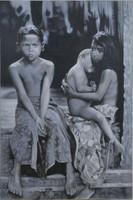 Ismeretlen indonéz festő: Bennszülött gyermekek portréja