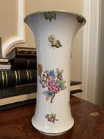 Eredeti Viktória mintás Herendi porcelán váza 1 Forintról!!!