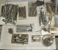 Fogászati műszerek az 1970-es évekből