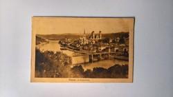Passau mit Dunaubrücke 1908