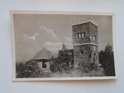 G21.328   Régi képeslap  Balaton  Balatonalmádi fürdő  Horthy Miklós kilátó  Pu 1941