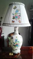 95cm magas Ó Herendi QueenVictoria porcelán lámpa új szerelékkel
