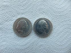 2 darab ezüst Liszt 2 pengő 1936 LOT !