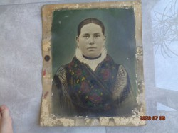 Antik portré padlásról!