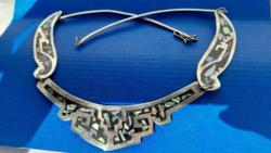 Mexikói kézműves ezüst nyaklánc