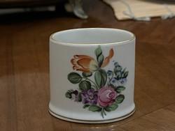 Eredeti Herendi porcelán tárgy, mini váza, vázácska 1 Forintról!