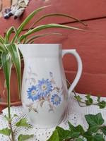 Gyönyörű virágos  Ritka Drasche, Kőbányai porcelán kancsó, Gyűjtői darab