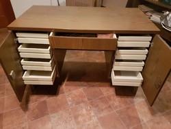 """Praktikus  méretű,  """"MOZAIK"""" család darabja  íróasztal  118c60x74 cm"""