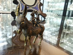Bécsi bronz szamarak - M540