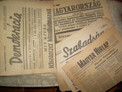 Régi újságok - csomag