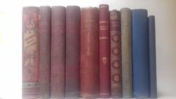 Antik kötetek vegyesen (10 db)