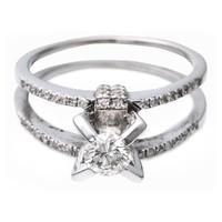 Gyémánt koktélgyűrű