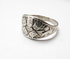 1.világháborús osztrák ezüst gyűrű 1917.