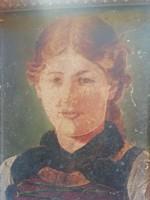 P. Defregger 1882 kis kép