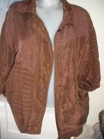 Selyem kabát L XL
