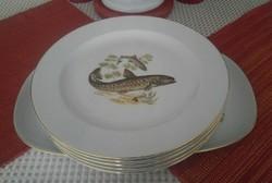 Bavaria, Germany, Német halas ünnepi étkészlet!