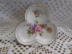 ROYAL Crown virágos porcelán gyűrűtálka.