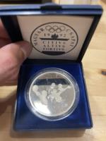 Olimpiai ezüst emlékérem 1 Forintról!!! Vizilabda