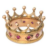 Korona alakú gyűrű