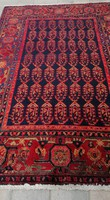 Antique hand-knotted Iranian boteh nomadic rug in beautiful condition.210X140.Bargeable!