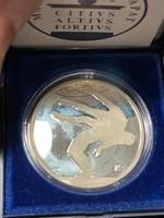 Olimpiai ezüst emlékérem 1 Forintról!!! Birkózás