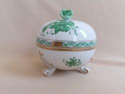 Herendi zöld Apponyi bonbonier