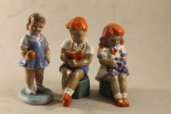 Mázas kerámia fiú és lányok 946
