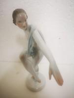 Art deco Herendi táncosnő lux elek