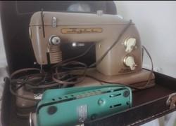 Szovjet TULA varrógép-1960 bőrönddel